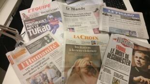 Diários franceses 30.12.2016