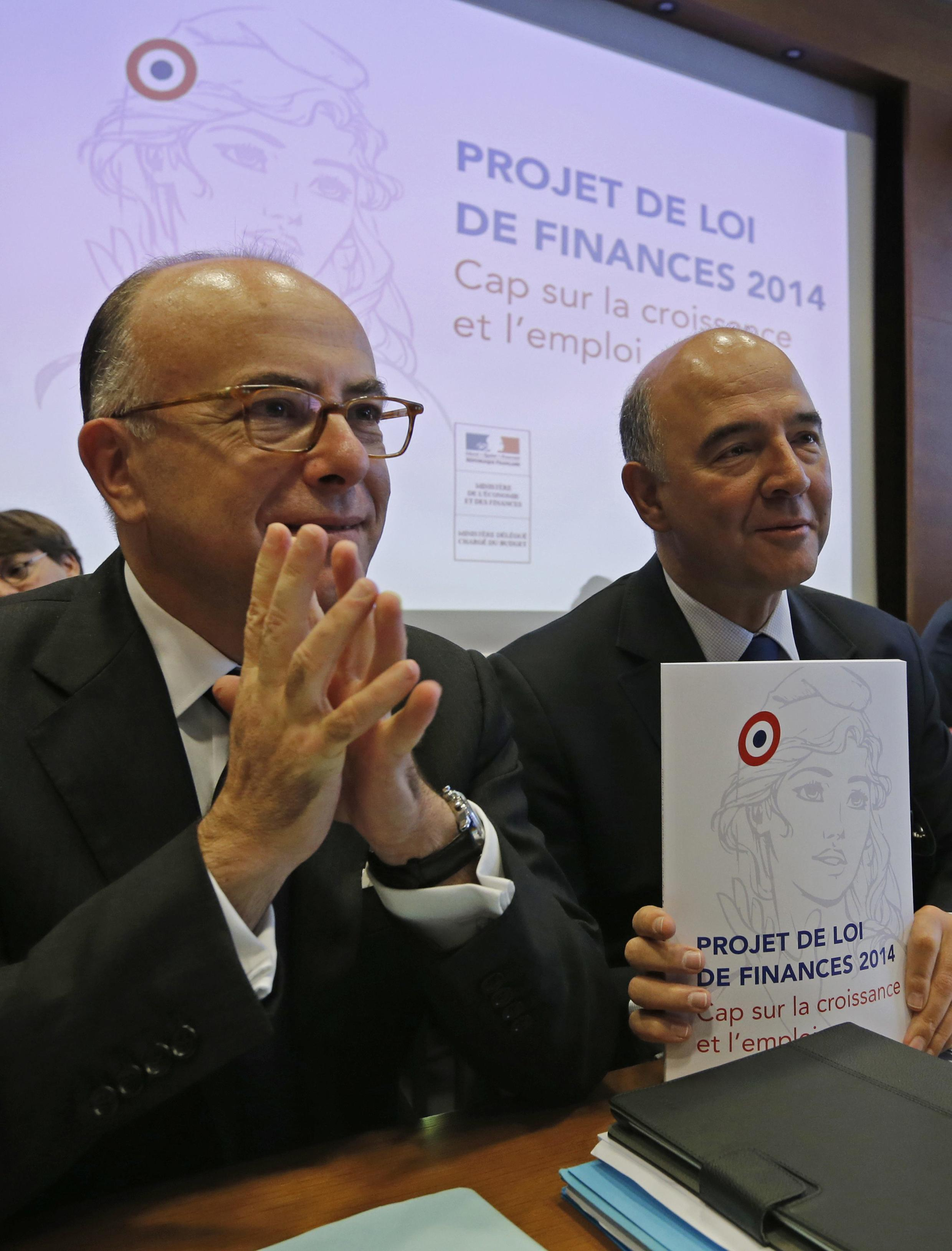 O governo da França apresentou nesta quarta-feira, 25 de setembro, seu projeto de orçamento para 2014 .