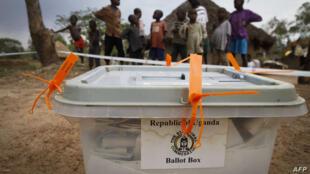 Akwatin zabe a kasar Uganda