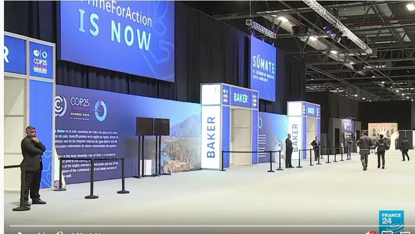 聯合國周一(12月2日)在馬德里召開第25屆氣候變化大會