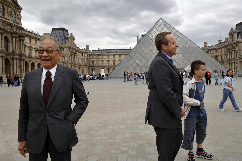 Автор пирамиды у Лувра, архитектор Бэй Юймин