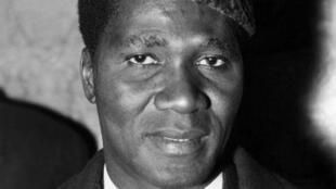 Le président guinéen Ahmed Sékou Touré, ici en novembre 1959 à Londres.