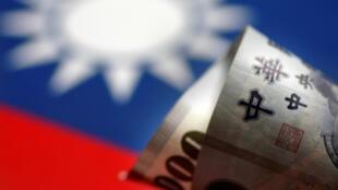 一张台币钞票插图照片 2017年5月31日
