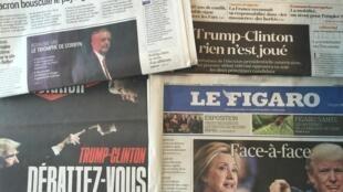Capas dos jornais 26-09-2016