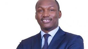 Mamadou Touré, ministre ivoirien de la Promotion de la Jeunesse et de l'Emploi des Jeunes et porte-parole adjoint du RHDP.