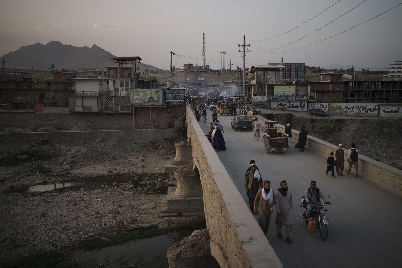 Afghanistan - Kaboul - Vue - Pont