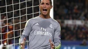 Cristiano Ronaldo was on targt for the 89th time in the Uefa Champions League during Real Madrid's win in Italy.