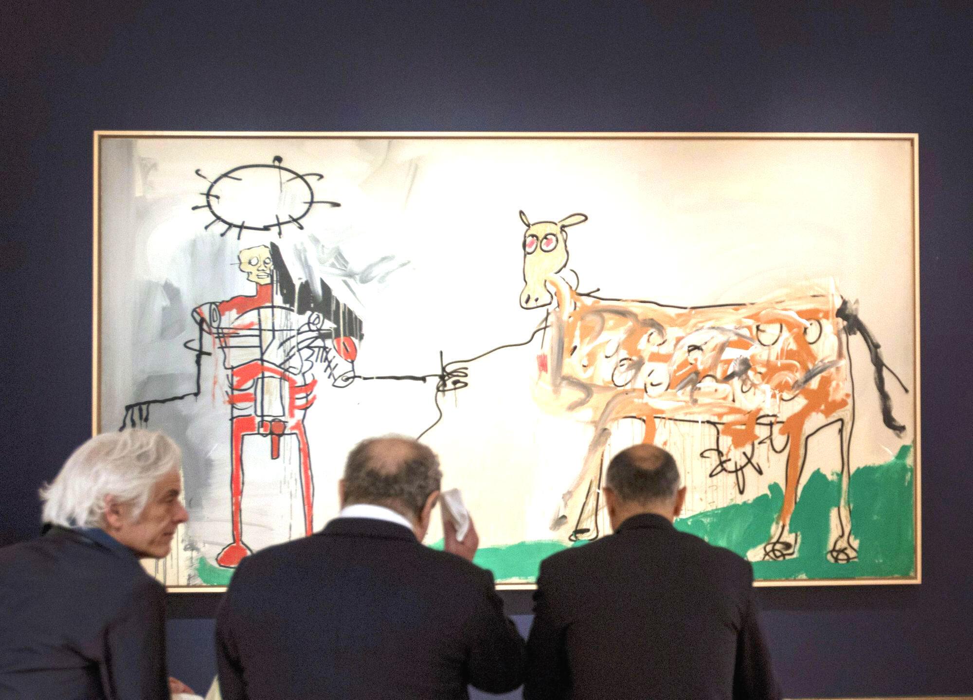 Qua đấu giá, tranh Basquiat giờ đây đạt tới mức hàng chục triệu đô la
