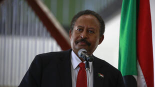 O  Primeiro-ministro do Sudão, Abdalla Hamdok
