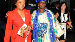 La nouvelle secrétaire générale de l'OIF Michaëlle Jean à Dakar, le 29 novembre.