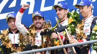 Toyota's TS050 Hybrid LMP1 team won last year's Le Mans