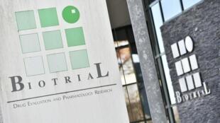 Le centre Biotrial à Rennes où les essais ont été pratiqués.