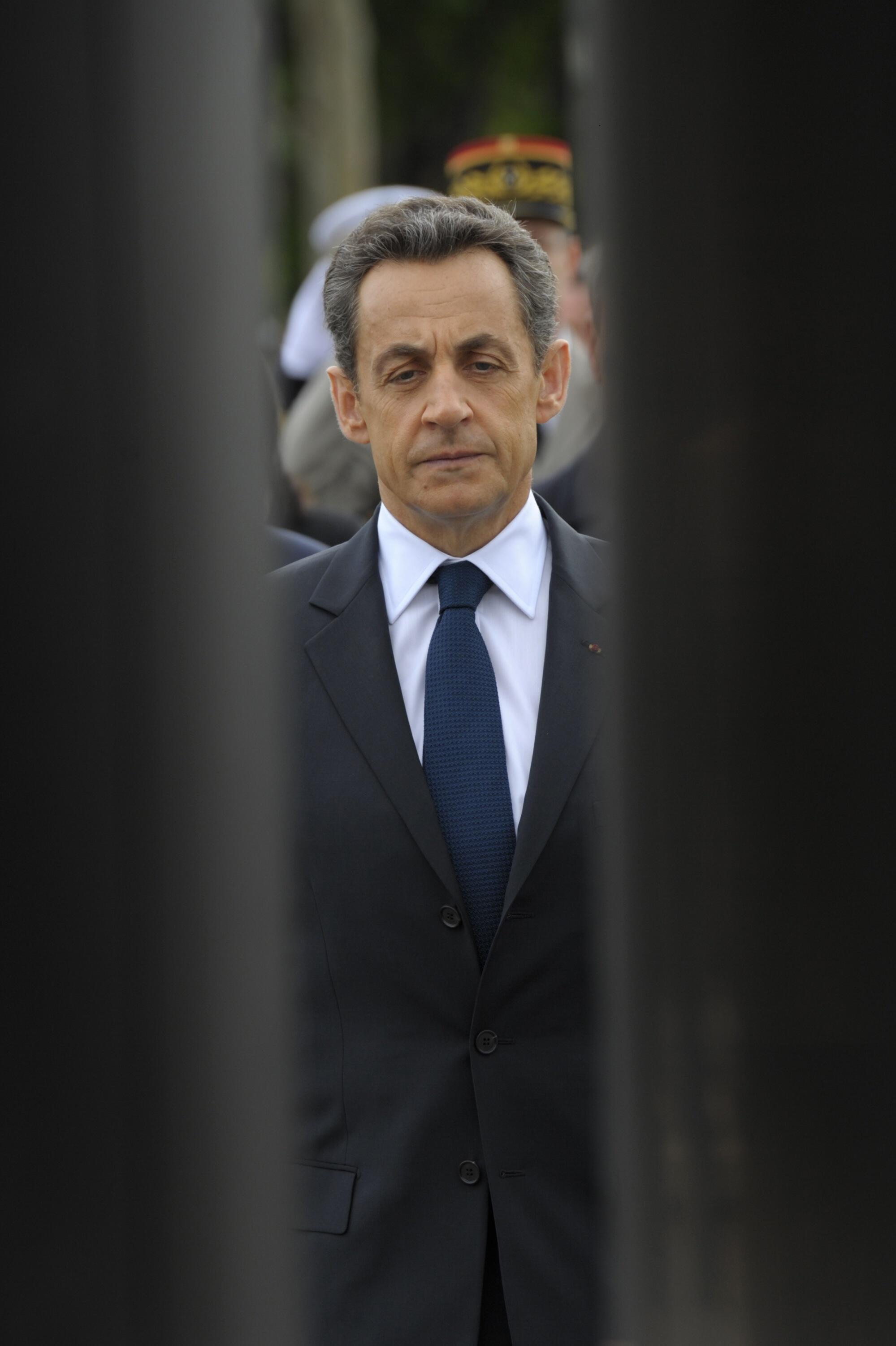 Nicolas Sarkozy, 8 May 2012