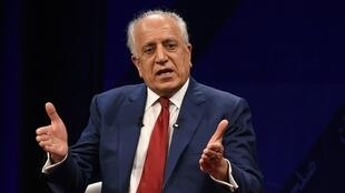 US negotiator Zalmay Khalilzad, seen here in April 2019, is planning fresh talks with the Taliban