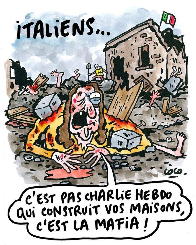 La respuesta de Charlie Hebdo a las críticas por la viñeta anterior.