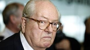 Jean-Marie Le Pen at the High Court of Nanterre, 12 June