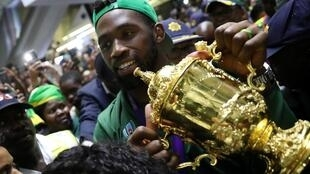 Siya Kolisi was appointed captain of South Africa's rugby union team in 2018.