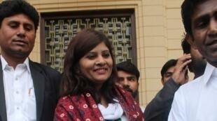 Krishna Kumari Kohli est la première femme issue de la caste des intouchable à être élue sénatrice au Pakistan.