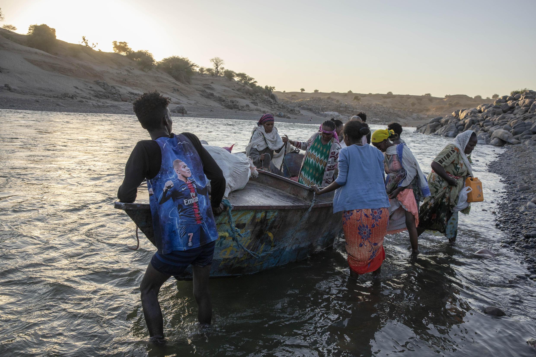 Éthiopie - Tigré - Soudan - réfugiés - frontière