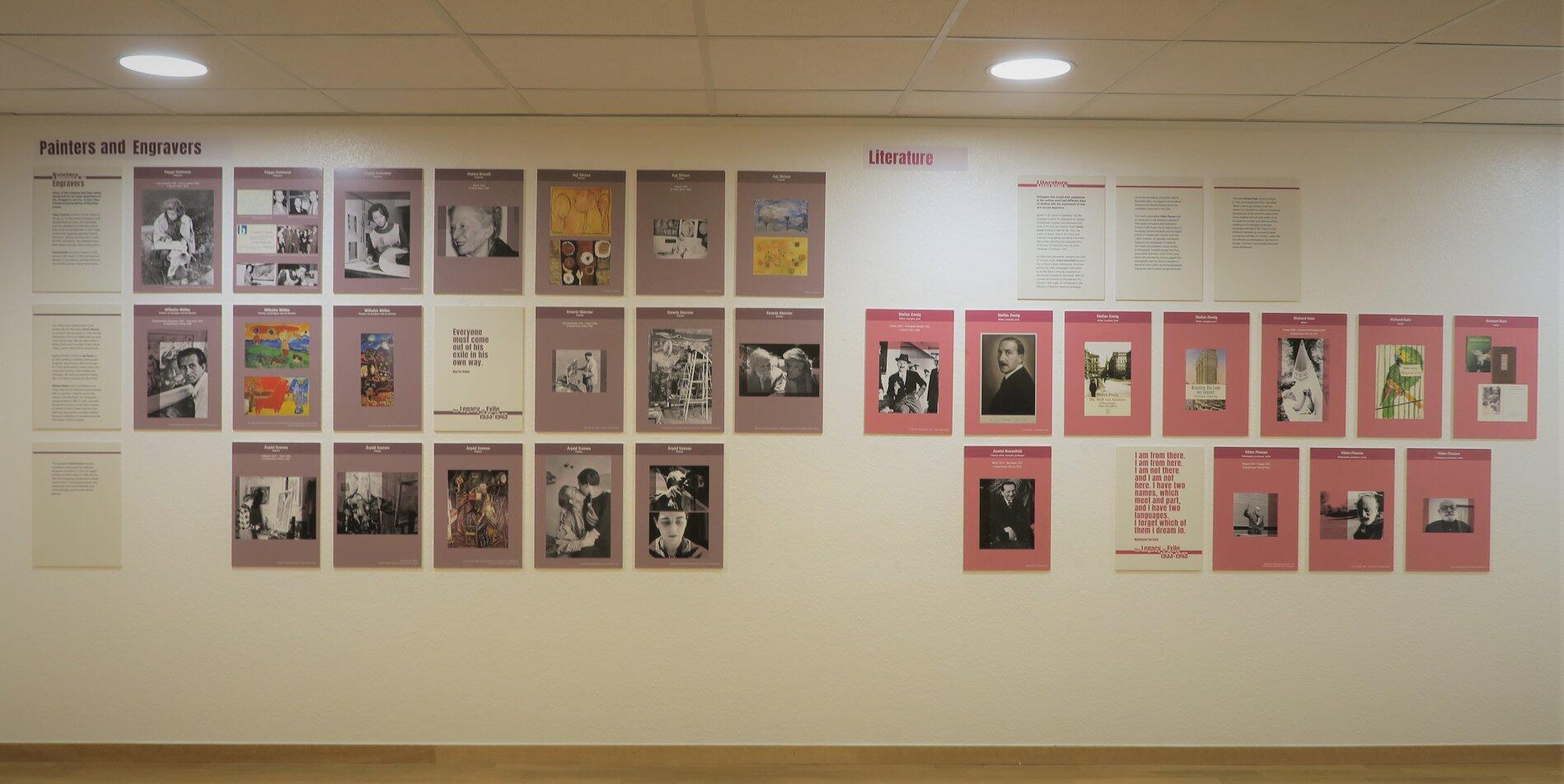 A exposição conta com alguns nomes que fizeram diferença em diversas áreas do conhecimento.