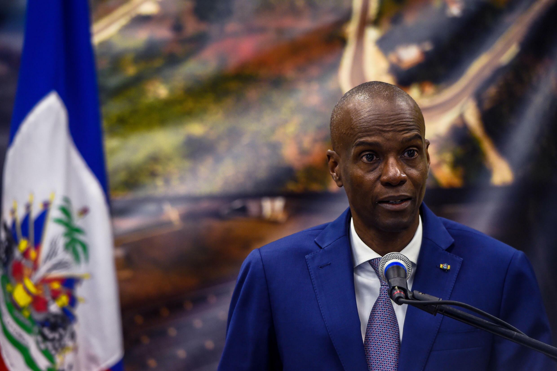 Jovenel Moise, presidente de Haití, el 7 de enero de 2020 en Puerto Príncipe