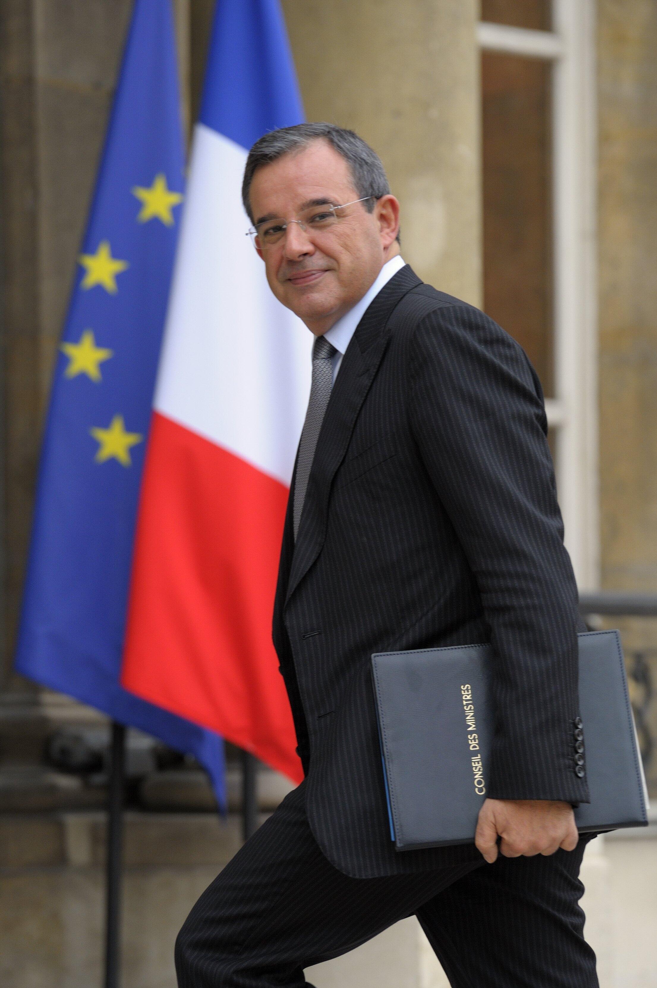 O novo secretário francês dos transportes, Thierry Mariani.