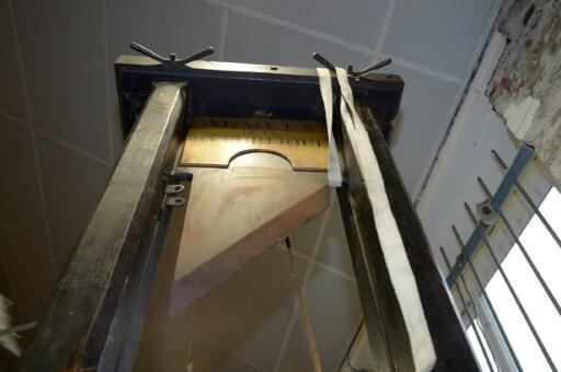The sale of guillotines has been highly controversial in France where the death penalty was abolished only in 1981