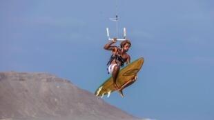 Mitu Monteiro, antigo campeão de kitesurf