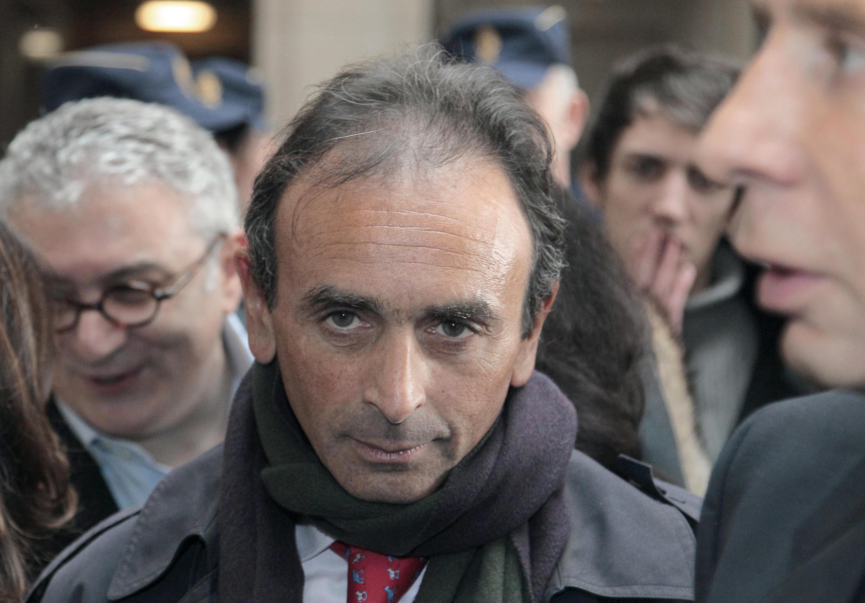 Известный французский публицист Эрик Земмур