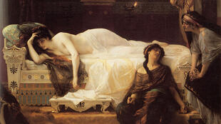 """""""Phèdre"""", oil on canvas by Alexandre Cabanel (1880)"""