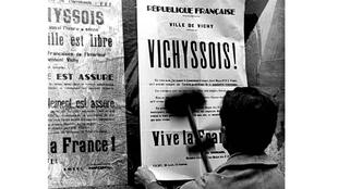 Poster from the city of Vichy
