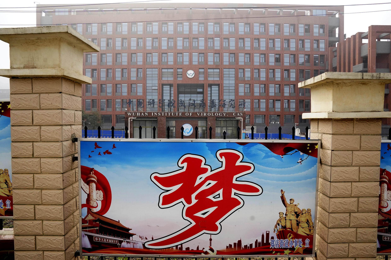 Foto do Instituto de Virologia de Wuhan, em 3 de fevereiro de 2021.