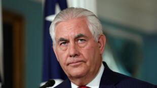 Le secrétaire d'Etat américain Rex Tillerson connaît bien la région du Golfe pour avoir longtemps dirigé le géant pétrolier ExxonMobil.