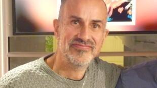 Antonio Placer en los estudios de RFI