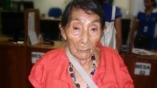Maria Lucimar Pereira pertenece a la tribu de los Kaxinawá, que habitan en  la Amazonia occidental, fronteriza con Perú.