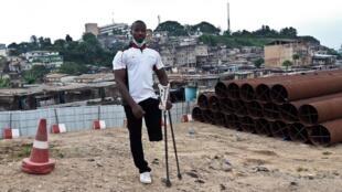 Karim Coulibaly, victime de la crise post-électorale de 2011, Abidjan, 8 juillet 2020
