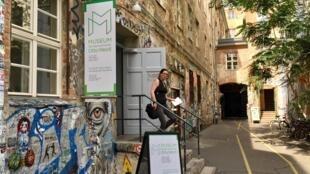 Le Musée Blindenwerkstatt Otto Weidt à Berlin, en Allemagne.