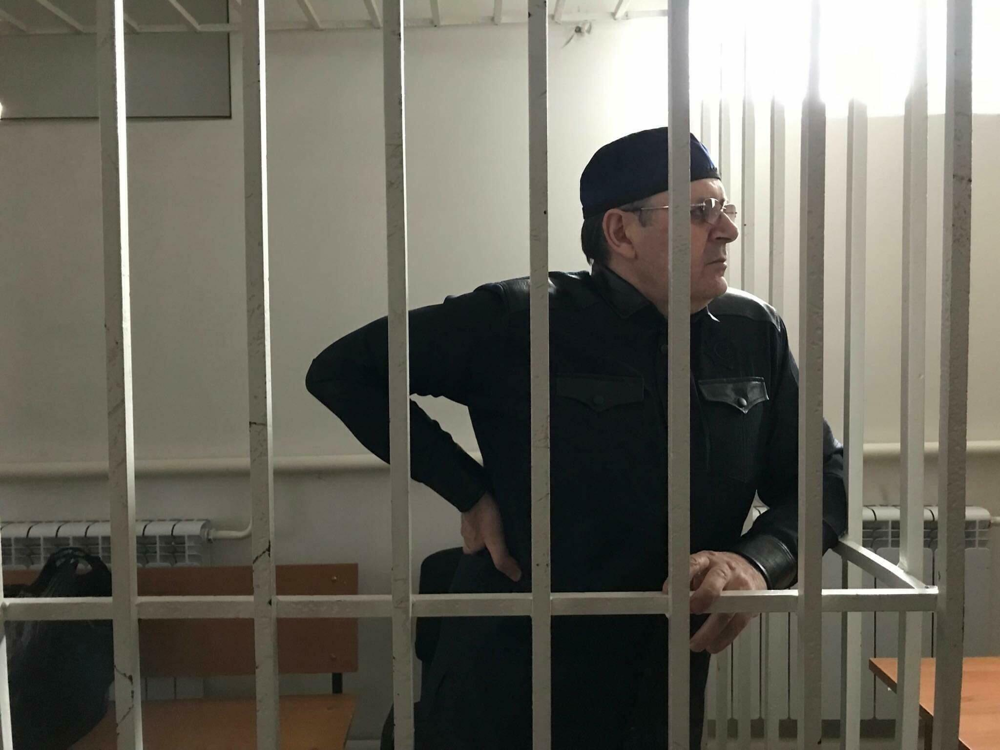 Оюб Титиев в Шалинском городском суде. 11.03.2019