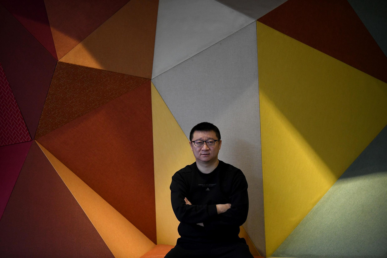 Ma Baoli, presidente de BlueCity, en la sede de la aplicación, en Pekín, el 10 de diciembre 2020