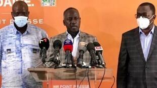 Adama Bictogo, directeur exécutif du parti présidentiel RHDP.