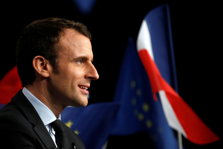 Emmanuel Macron, élection 2017.