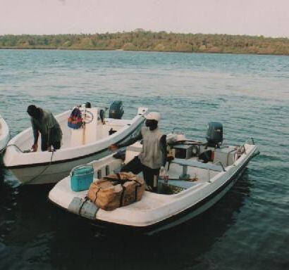 Navio de pesca na Guiné-Bissau