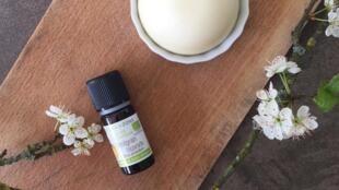 O desodorante caseiro é feito com óleos essenciais que têm ação bactericida.