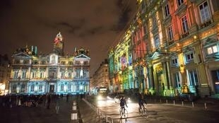 View of Le Prince des Lumieres installation by artist Damien Fontaine