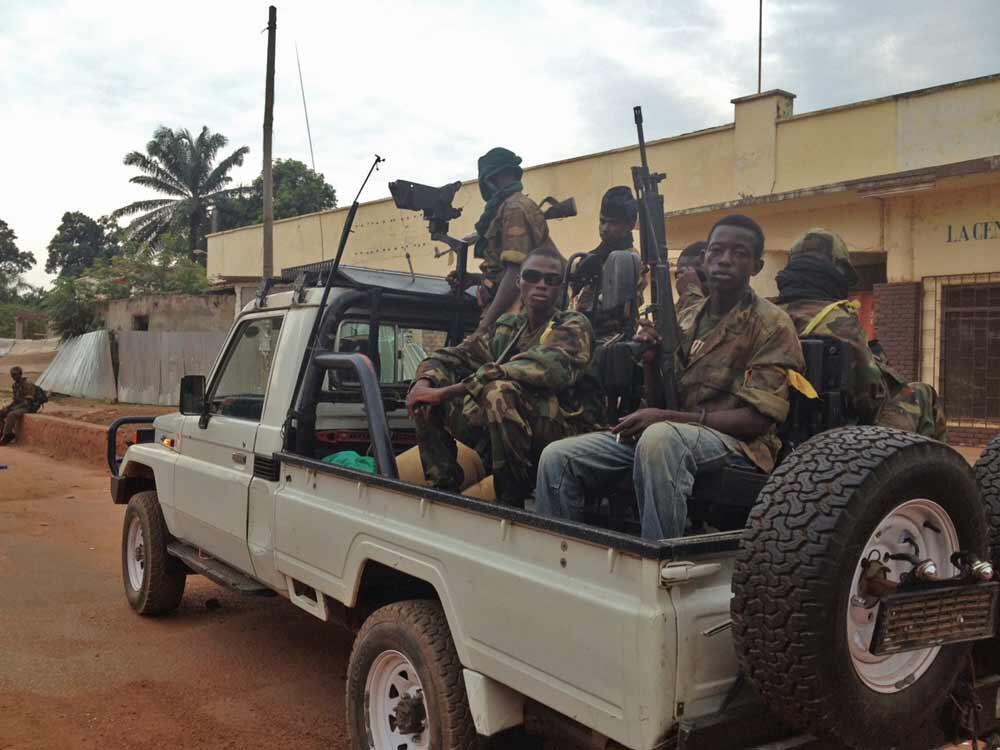 les rebelles de la seleka