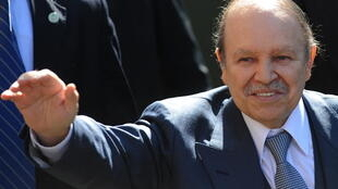 Abdelaziz Bouteflika, presidente demissionário da Argélia