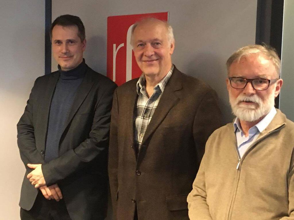 De g. à dr. : Lukas Macek, Jacques Rupnik et Piotr Moszynski