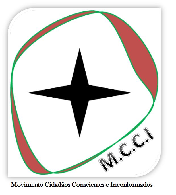 logotipo do Movimento dos Cidadãos Conscientes e Inconformados (MCCI)