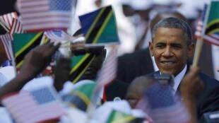 Barack Obama en Tanzanie, le 1er juillet 2013.