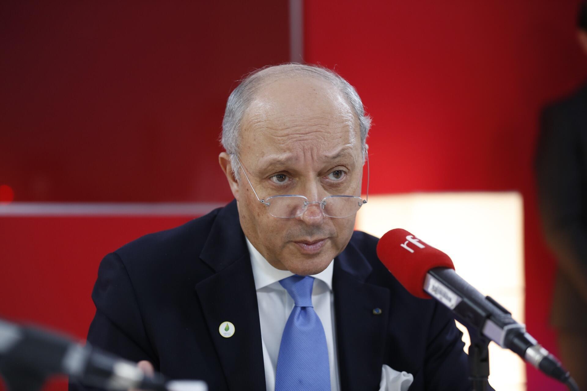 Laurent Fabius, antigo ministro dos Negócios Estrangeiros.